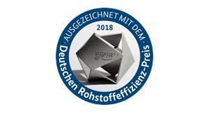 Logo Rohstoffeffizienzpreis 2018